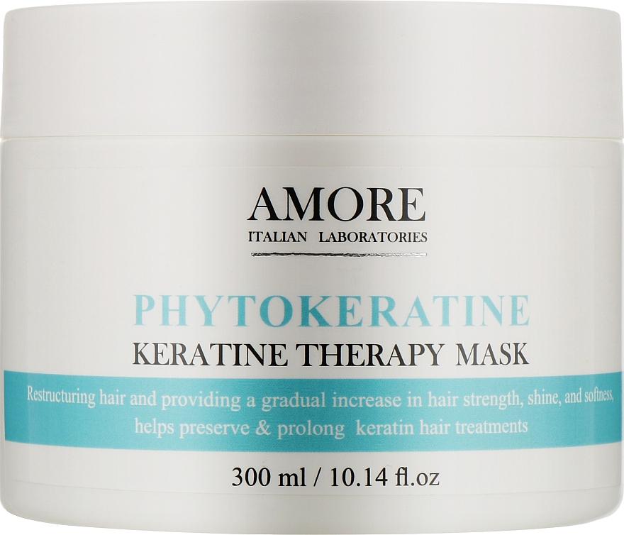 Концентрированная маска с фитокератином для реконструкции поврежденных волос - Amore Phytokeratine Mask
