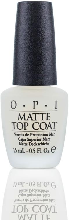 Верхнее покрытие для создания матового эффекта - O.P.I Matte Top Coat
