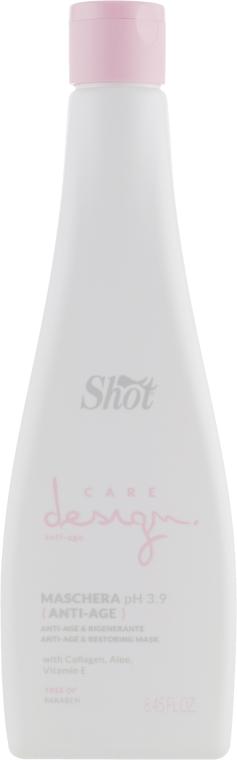 Маска восстанавливающая с коллагеном - Shot Care Design Anti-Age & Restoring Mask