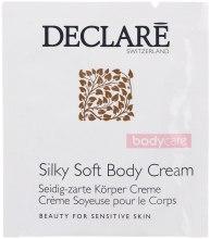"""Духи, Парфюмерия, косметика Крем для тела """"Шелковое прикосновение"""" - Declare Body Care Silky Soft Body Cream (пробник)"""