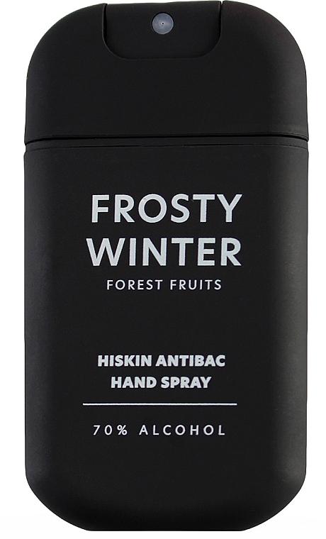"""Спрей для дезинфекции рук """"Лесные ягоды"""" - HiSkin Antibac Hand Spray Frosty Winter"""