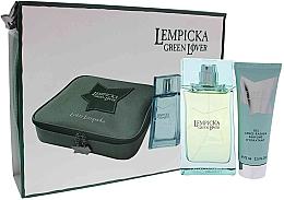 Духи, Парфюмерия, косметика Lolita Lempicka Green Lover - Набор (edt/100ml + afsh/gel/75ml + pouch)