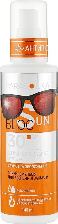 Спрей-эмульсия для безопасного загара SPF 30 - Velta Cosmetic Parasol'ka Sun Spray
