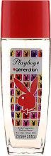 Духи, Парфюмерия, косметика Playboy Generation - Натуральный дезодорант-спрей