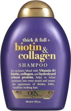 Шампунь для волос с биотином и коллагеном - OGX Thick & Full Biotin & Collagen Shampoo