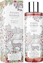Духи, Парфюмерия, косметика Woods of Windsor Pomegranate & Hibiscus - Гель для душа