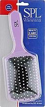 Духи, Парфюмерия, косметика Щетка массажная, 8586, фиолетовая - SPL Hair Brush