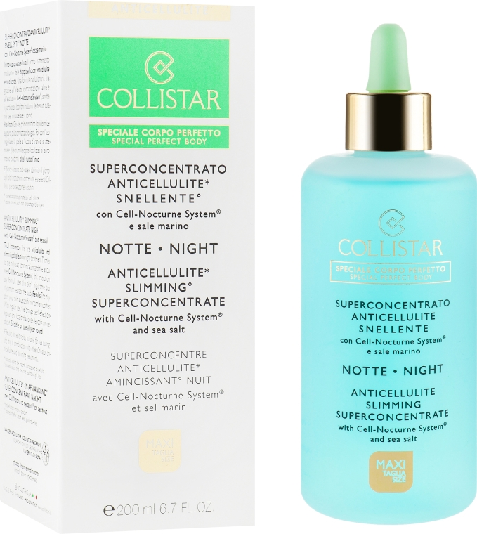 Антицеллюлитное ночное средство - Collistar Speciale Corpo Perfetto Anticellulite Slimming Superconcentrate Night