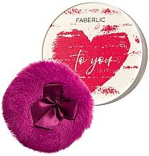 Духи, Парфюмерия, косметика Мерцающая рассыпчатая пудра для лица и тела - Faberlic One Love