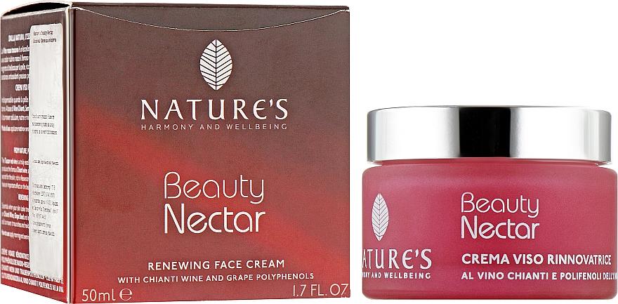 Восстанавливающий крем для лица - Nature's Beauty Nectar Renewing Face Cream