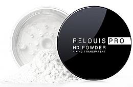 Духи, Парфюмерия, косметика Прозрачная фиксирующая пудра - Relouis Pro HD Powder Fixing Transparent
