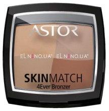 Духи, Парфюмерия, косметика Бронзер для лица - Astor SkinMatch 4Ever Bronzer