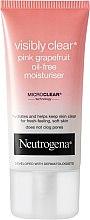 Духи, Парфюмерия, косметика Увлажняющий крем для лица - Neutrogena Visibly Clear Pink Grapefruit Oil-Free Moisturiser