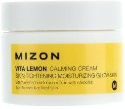 Духи, Парфюмерия, косметика Успокаивающий увлажняющий оживляющий кожу витаминный крем-гель - Mizon Vita Lemon Calming Cream