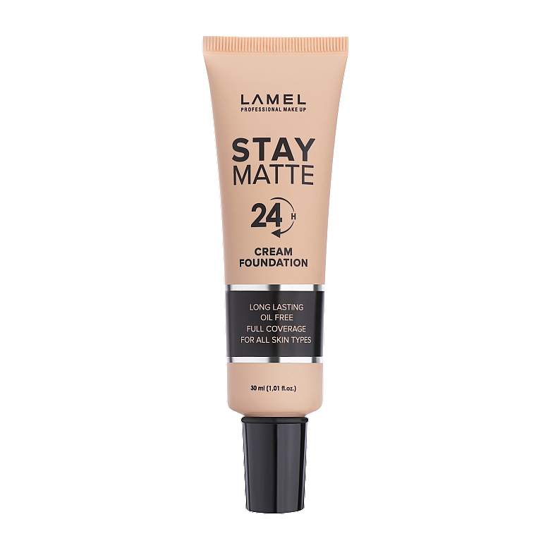Тональный крем - Lamel Professional Stay Matte 24H Cream Foundation