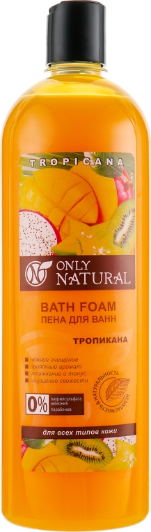 "Пена для ванн ""Тропикана"" - Only Natural"