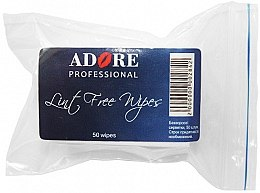 Духи, Парфюмерия, косметика Салфетки безворсовые, 50 шт - Adore Professional Lint Free Wipes