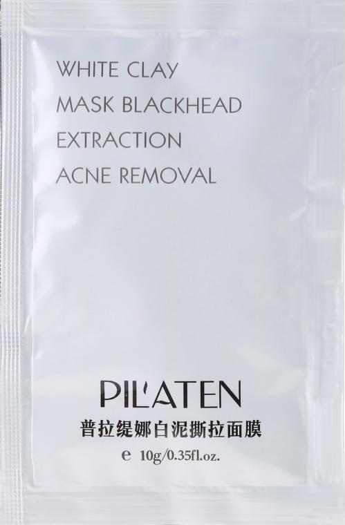Глиняная маска для лица - Pil'aten White Clay Mask Blackhead Extraction Acne Removal