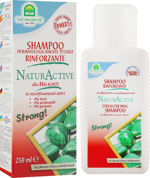 Шампунь с малахитом для укрепления волос - Natura House
