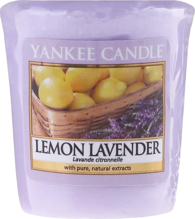 "Ароматическая свеча ""Лимон и лаванда"" - Yankee Candle Scented Votive Lemon Lavender"