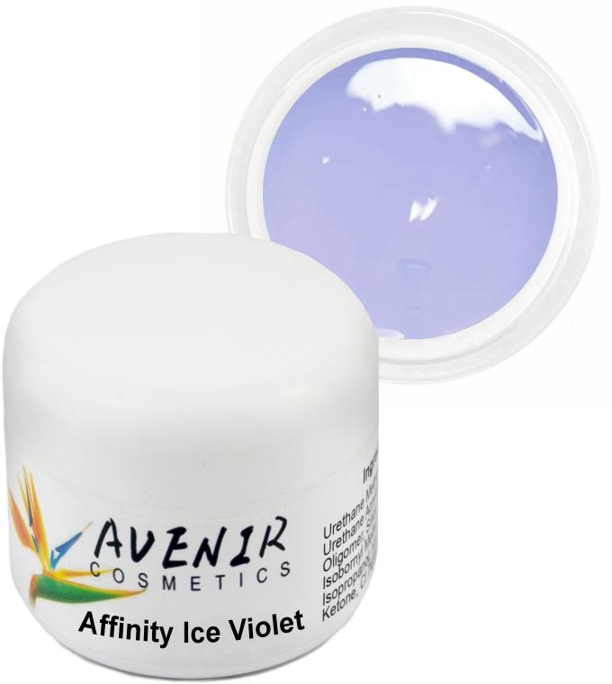 """Гель для наращивания """"Ледяной фиолетовый"""" - Avenir Cosmetics Inffinity Ice Violet Gel"""