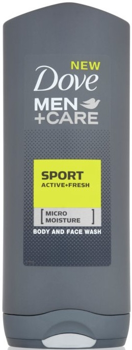 Гель для душа - Dove For Men Plus Care Sport Active+Fresh