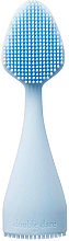 Духи, Парфюмерия, косметика Щеточка массажная силиконовая, голубая - Double Dare Innovative Multi-Functional Buddy Face, Pastel Blue