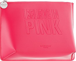 Духи, Парфюмерия, косметика Косметичка на молнии, розовая - Givenchy Pink Colour Make Up Pouch