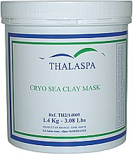 Духи, Парфюмерия, косметика Криомаска грязевая из натуральной морской глины - Thalaspa Cryo Sea Clay Mask