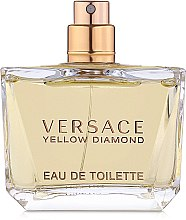 Духи, Парфюмерия, косметика Versace Yellow Diamond - Туалетная вода (тестер без крышечки)