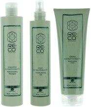 Духи, Парфюмерия, косметика Набор для реконструкции волос - Green Light Re-Co Hair Wellness (shm/300ml + oil/250ml + hair/cr/250ml)
