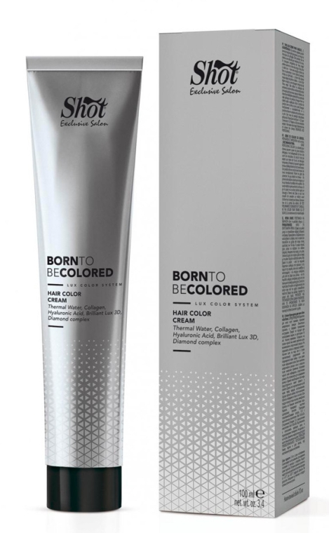 Крем-краска для волос - Shot Born To Be Colored Hair Color Cream