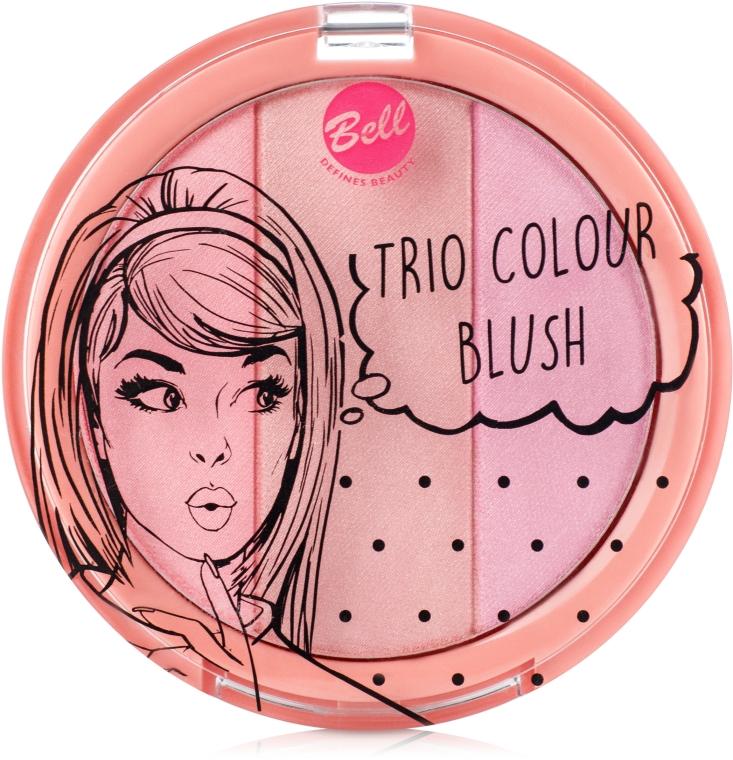 Румяна компактные - Bell Trio Colour Blush