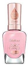 Духи, Парфюмерия, косметика Лак для ногтей с аргановым маслом - Sally Hansen Color Therapy Sheer Nail Color