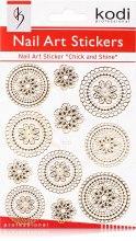 Духи, Парфюмерия, косметика Наклейки для дизайна ногтей - Kodi Professional Nail Art Stickers YL001