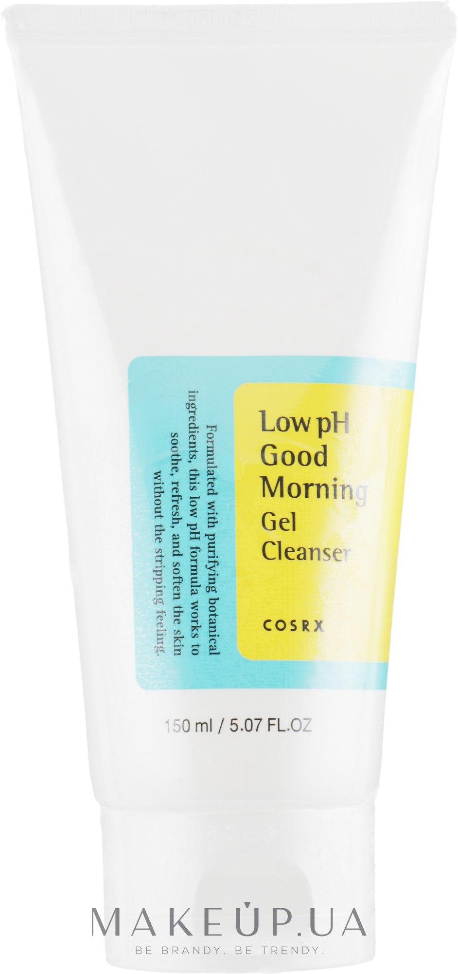 Гель-пенка с ВНА-кислотами - Cosrx Low Ph Good Morning Gel Cleanser — фото 150ml