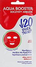 Духи, Парфюмерия, косметика Увлажняющая тканевая маска для лица - Under Twenty Anti! Acne Aqua Booster Face Mask