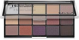 Духи, Парфюмерия, косметика Палетка для макияжа глаз - DoDo Girl 15 Colors Eyeshadow