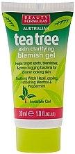 """Духи, Парфюмерия, косметика Противовоспалительный гель для лица """"Чайное дерево"""" - Beauty Formulas Tea Tree Skin Clarifying Blemish Gel"""