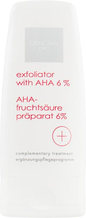 Эксфолиатор с АНА 6% - Denova Pro Exfoliator With AHA 6%