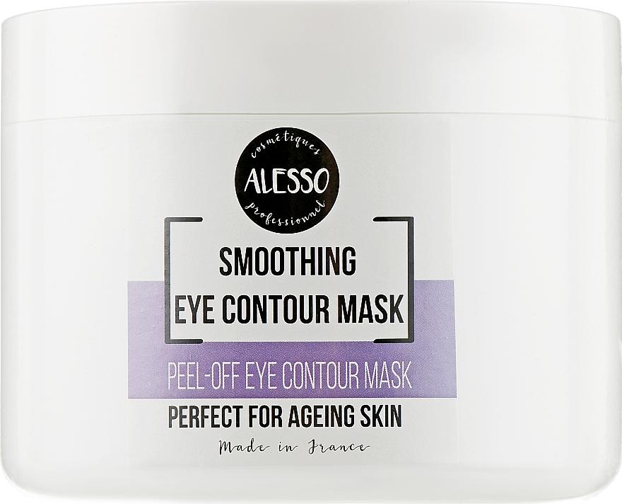 Маска альгинатная для контура глаз против темных кругов и отеков - Alesso Professionnel Eye Contour Alginate Mask
