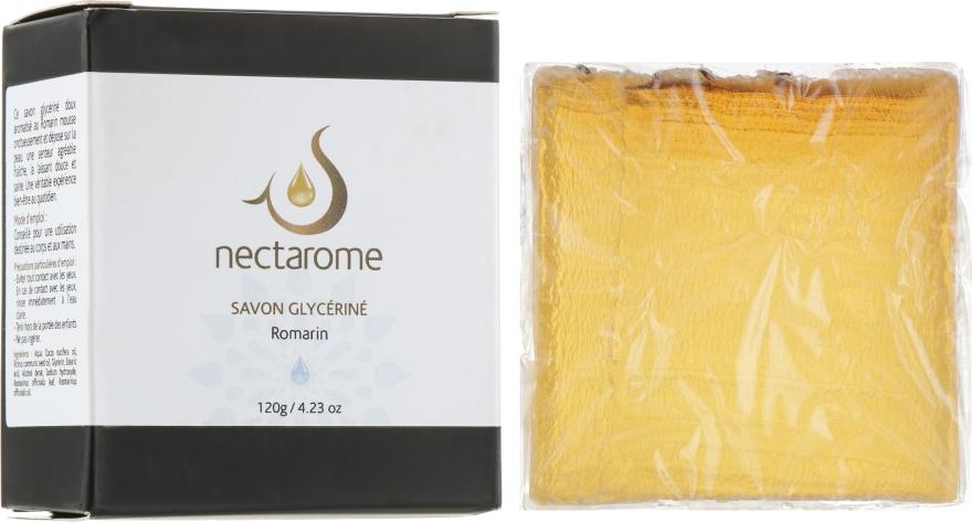Мыло глицериновое с розмарином - Nectarome Soap With Rosemary