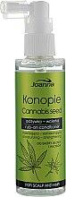 Духи, Парфюмерия, косметика Несмываемый кондиционер с семенами конопли - Joanna Cannabis Seed Moisturizing-Strengthening Rub-on Conditioner
