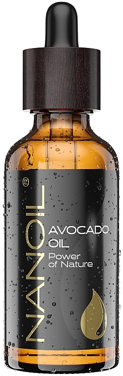 Масло авокадо - Nanoil Body Face and Hair Avocado Oil