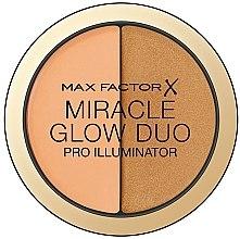 Духи, Парфюмерия, косметика Хайлайтер для скульптурирования лица - Max Factor Miracle Glow Duo