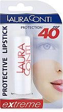 """Духи, Парфюмерия, косметика Бальзам для губ """"Защитный"""" - Laura Conti Protective Lipstick Extreme SPF 40"""