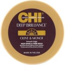 Парфумерія, косметика Сяйна помада для укладки волосся - CHI Deep Brilliance Olive & Monoi Smooth Edge