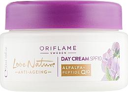 "Духи, Парфюмерия, косметика Дневной антивозрастной крем ""Люцерна"" - Oriflame Love Nature Day Cream SPF10"