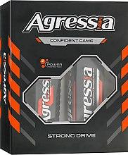 Духи, Парфюмерия, косметика Набор - Agressia Strong Drive (sh/gel/250 ml + sh/cr/100ml)