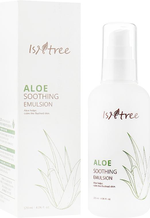 Успокаивающий лосьон с экстрактом алоэ - Isntree Aloe Soothing Emulsion